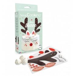 Wafer decorations Reindeer