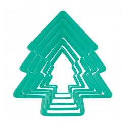 ausstecher, kekse, Weihnachten, Tannenbaum
