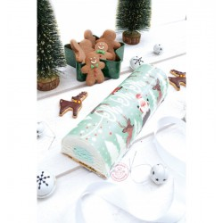 Sugar paste roll, hohoho, Santa Claus, reindeer, Christmas
