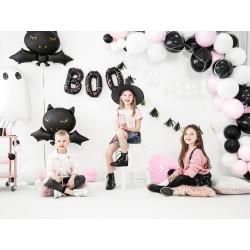 balloon, halloween, boo, black