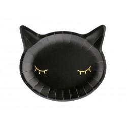 Plates Black Cat