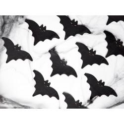 napkins bat, black, halloween