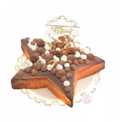 topper, led, cake, happy birthday, decoration, wood