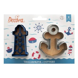 Cookie cutters, Meer, Anchor 