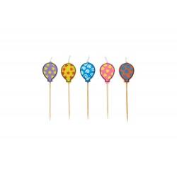 Bougies thématiques ballons