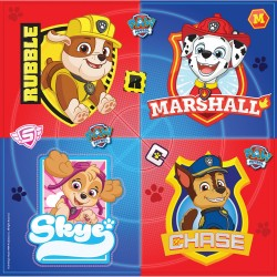 Napkins, paw patrol, dog, decoration, birthday