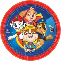 Plates, paw patrol, decoration, dog, birthday
