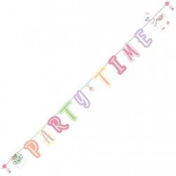 Guirlande, anniversaire, décoration, lama