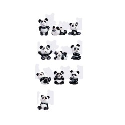 Fèves panda fun