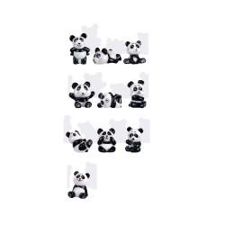 """Porzellanbohnen """"Panda Fun"""""""