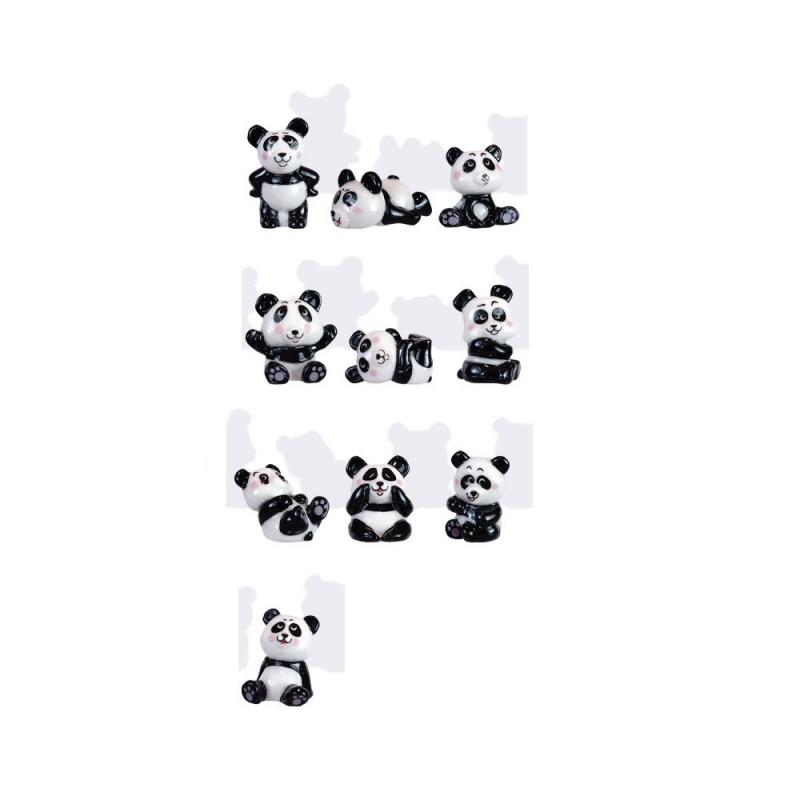 """Porcelain figures """"Panda Fun"""""""