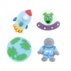 décos sucres, spaceman, espace