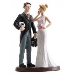 "Wedding Figurine ""Soccer"""