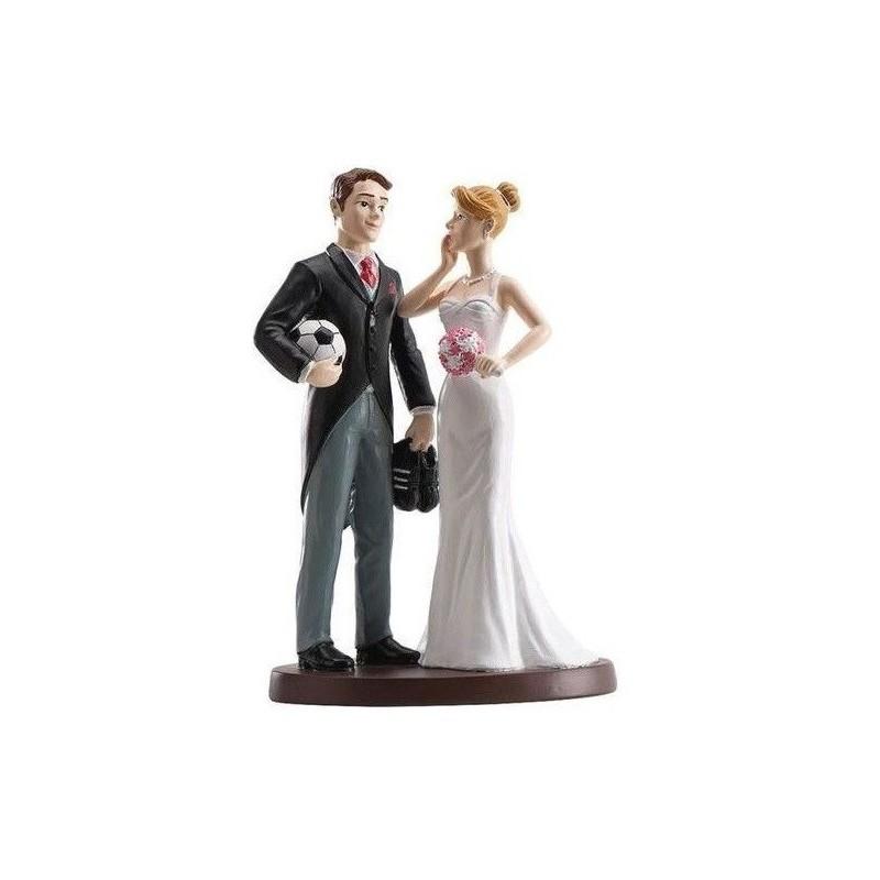 "Wedding Figurine ""Soccer"""