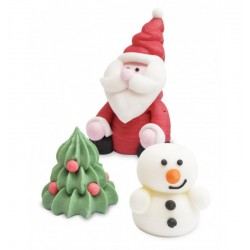 Sugar decoration 3D Christmas