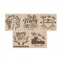 Stamp, cookie cutter, Christmas
