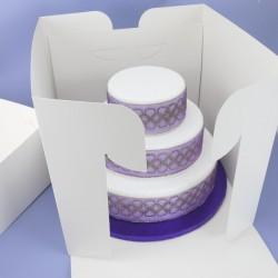 Boîte à gâteau de 35x35cm sur 33cm de haut