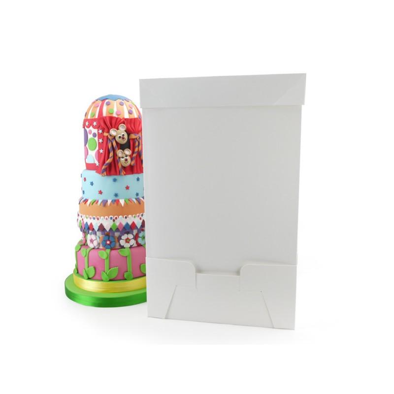 Boîte à gâteau de 35x35cm sur 55.5cm de haut