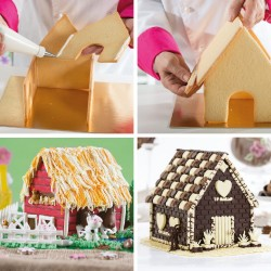 house, christmas, cookie cutter,