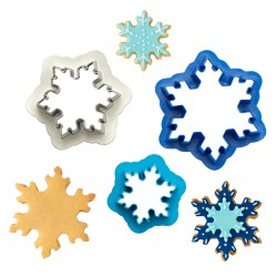 Cookie Cutter Snowflakes