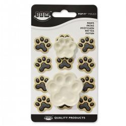 Emporte pièces empreintes chien