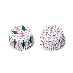 Baking Cups Christmas Tree & Stars