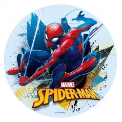 Edible disc Spiderman