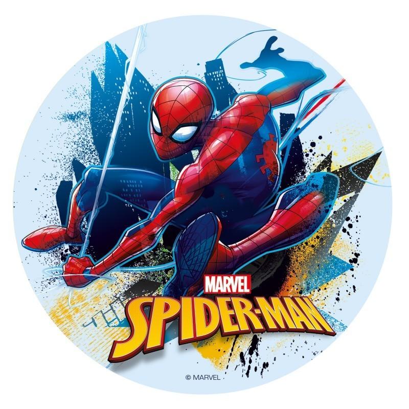 Edible disc Spiderman