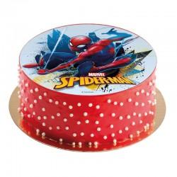 Essbare Scheibe Spiderman