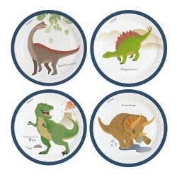 decoration, birthday, dinosaur, happy dinosaur, plates