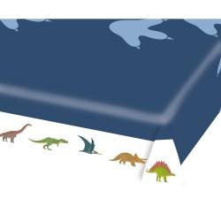 Tisch, Tischecke, Dekoration, Geburtstag, dinosaurier, happy dinosaur