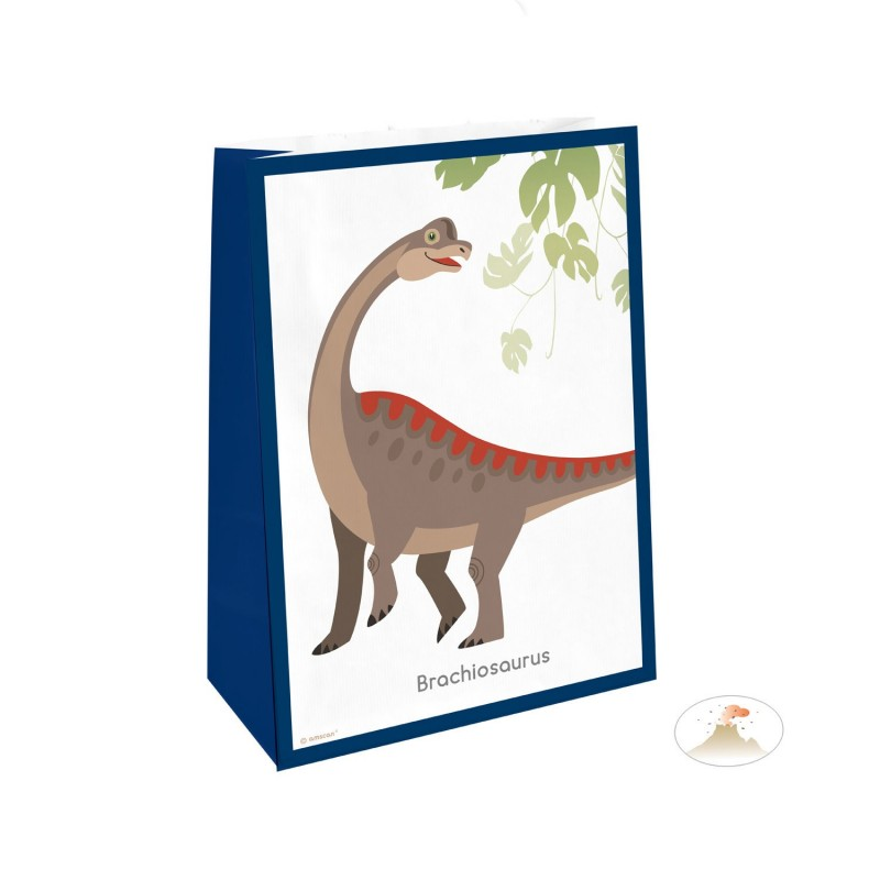 party bags, birthday, happy dinosaur