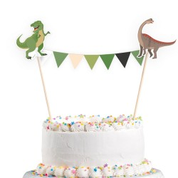 cake, decoration, dinosaur