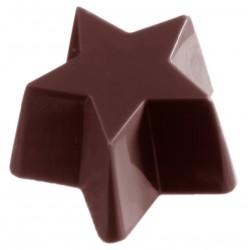Moule à chocolats Etoile