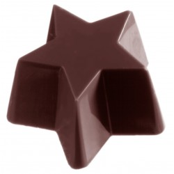 Schokoladenform Stern