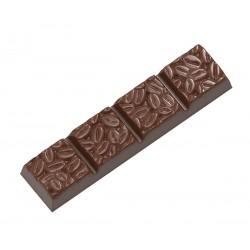 Moule à barres de chocolat Grains de café