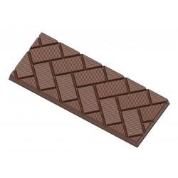 Moule à tablettes de chocolat Cubes obliques