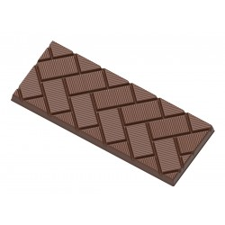 Schokoladenform Tafel Schräger Würfel