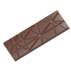 Moule à tablettes de chocolat à rayures