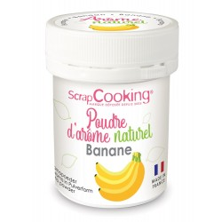 Poudre d'arôme naturel - Banane