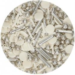 Streudekor Silver Chic Medley