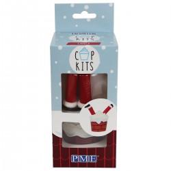 Cupcakes kit Santa