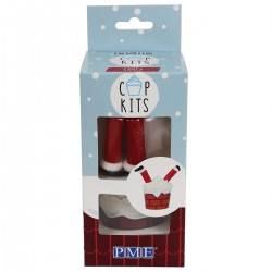 Kit à cupcakes Père Noël