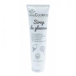 tube, sirop de glucose, glaçage miroir