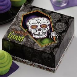 Boîtes à cupcakes Soirée Mortelle 3pc