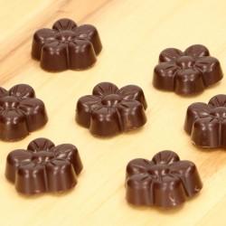 form, schokolade, schokoladenforn, blumen