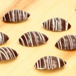 form, schokolade, olive