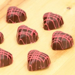 schokolade, form, schokoladenform, herz