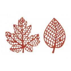silicone, mat, leaf