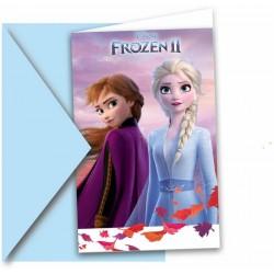 Karten, einladung, Eiskönigin